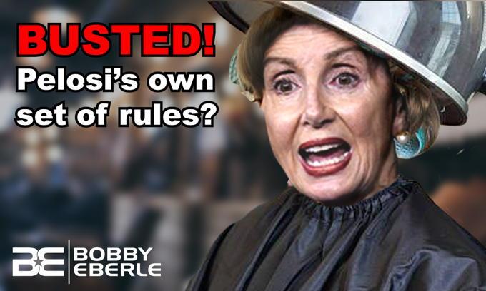 BUSTED! Nancy Pelosi caught on hair salon video during coronavirus lockdown