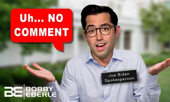 Joe Biden's WORST week? Biden spokesman can't even defend Joe Biden's comments!