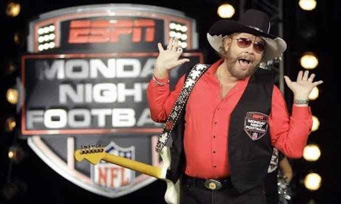 ESPN dumps Hank Williams Jr. and all his rowdy friends as 'Monday Night Football' intro