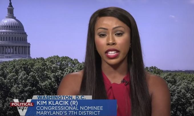 'The View' segment ends when Republican Kim Klacik blasts Behar for 'parading around in blackface'