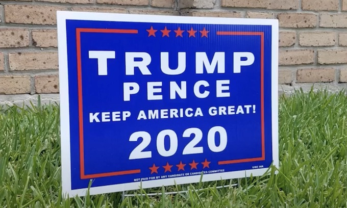 Which is right, polls or yard signs?