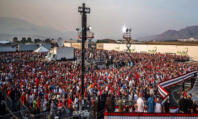 Trump's Saturday Rally to Be Biggest of 2021