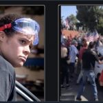 BLM woman drives through Trump crowd injuring 2