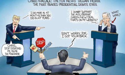 Mike Wallace Debates Trump!