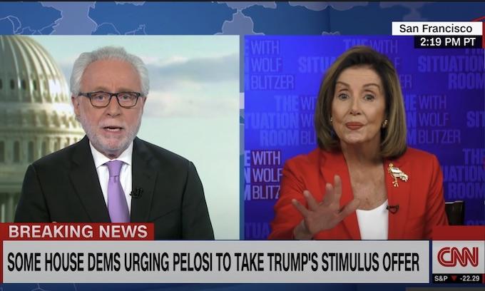 Finally, media asks Pelosi a few of the hard questions