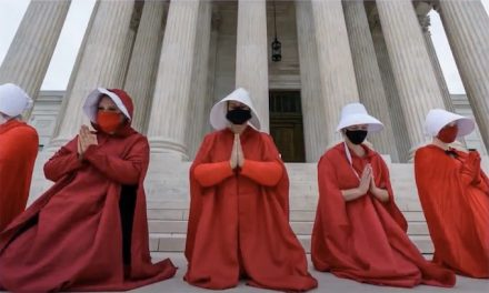 Left's best case vs. Barrett? They want you to think she's a handmaid