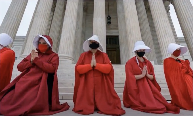 Handmaids of bigotry couldn't stop Justice Barrett