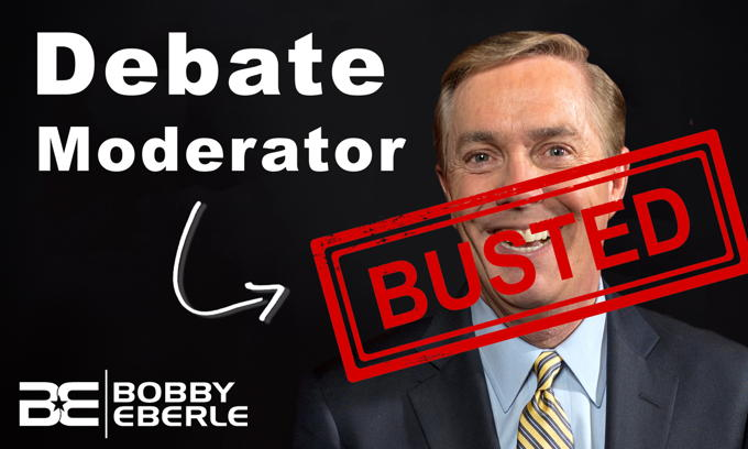 Steve Scully BUSTED! Debate Moderator caught lying about contact with Never-Trumper