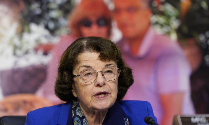 Sen. Feinstein, age 87,  to step down from top spot on Senate Judiciary Committee
