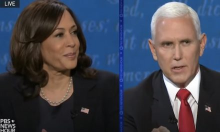 Harris, Pence clash over fracking