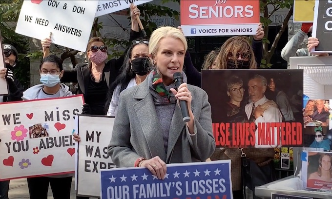 Relatives demand Cuomo apology over COVID deaths in nursing homes