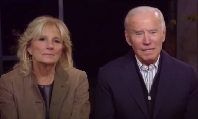 Sleepy Joe takes days off, hiding from voters