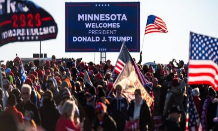 Trump greets throngs of fans outside Minnesota rally after state allows just 250 seats