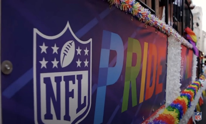 Woke NFL adds National Coming Out Day to its social justice agenda