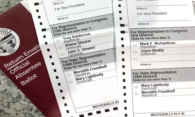 50,000 voters in Ohio received wrong ballots: How much faith do you have in a correct count?