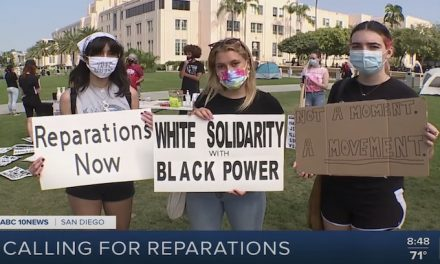 Protest called for reparations for Black Americans