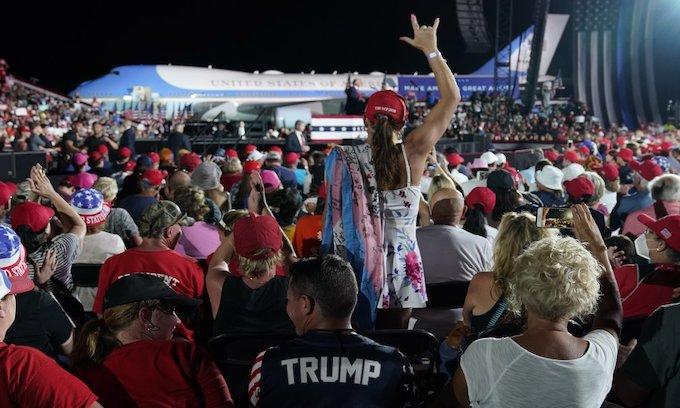 Trump touts health at Florida rally after consecutive negative COVID-19 tests