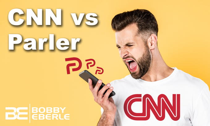 Is Parler a 'Threat to Democracy'? CNN blasts Parler, Newsmax as 'Dangerous'