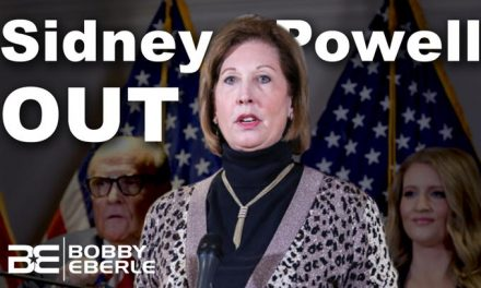 HUGE:Sidney Powell OUT from Trump's Legal Team, Says Georgia Case 'Will Be Biblical'