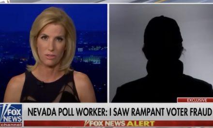 Nevada poll worker tells Ingraham Angle she witnessed blatant voter fraud