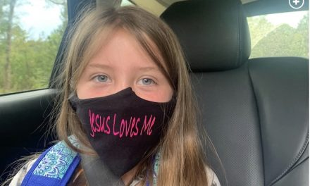 Bible Belt school bans child's face mask: It's 'too religious'