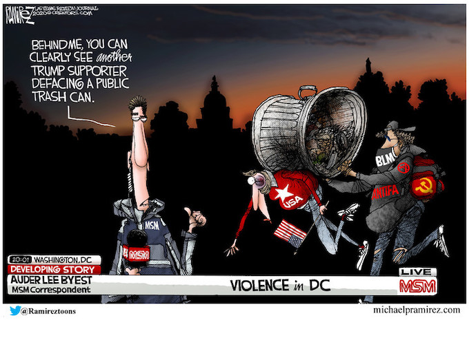 Media finally sees DC violence!