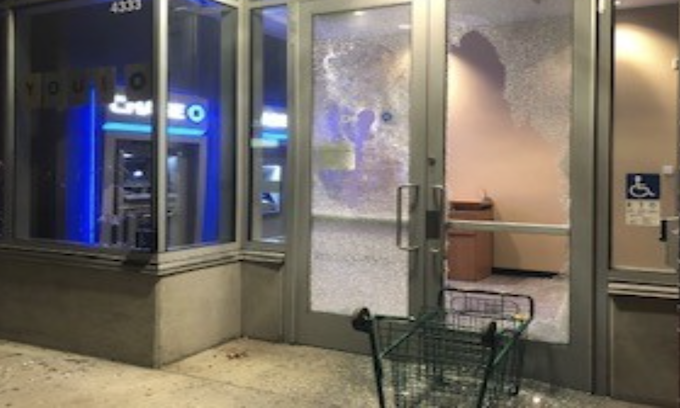 Friday night riots in Portland and Omaha