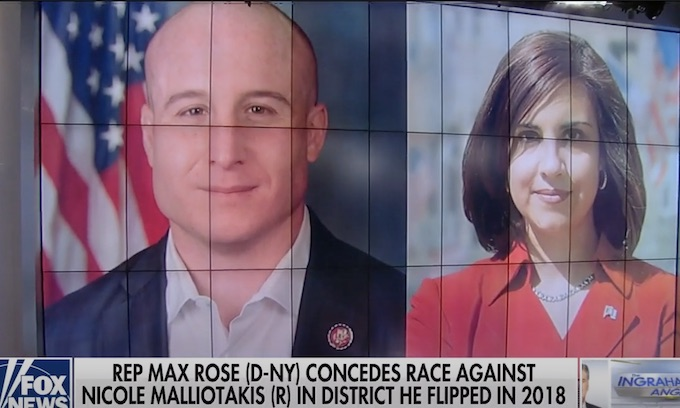Rep. Max Rose concedes to GOP challenger Nicole Malliotakis in NYC congressional upset