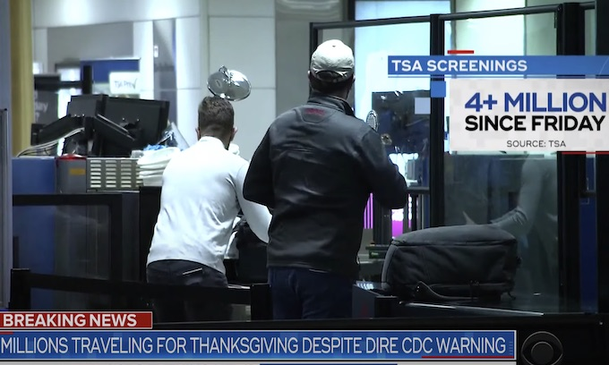 Tens of Millions ignore CDC to go home for Thanksgiving