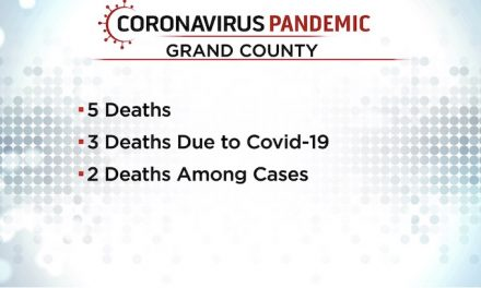 Coroner: Colorado included a murder-suicide in Grand County's COVID deaths