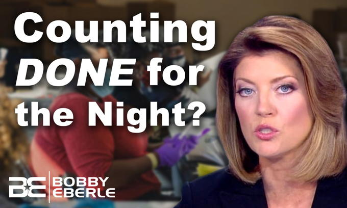 Georgia Ballot Video: Why did media say COUNTING STOPPED at State Farm Arena?