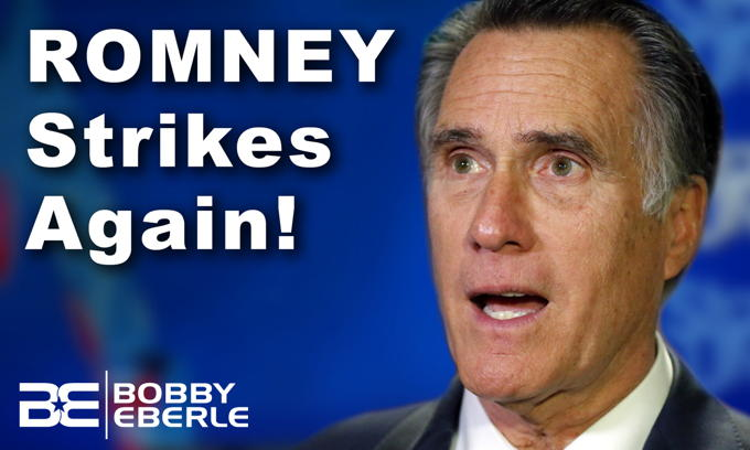 Mitt strikes again! Romney says Trump's election fraud challenges are 'nutty, loopy'