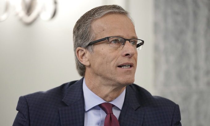Thune says challenge to Biden win to 'go down like a shot dog'