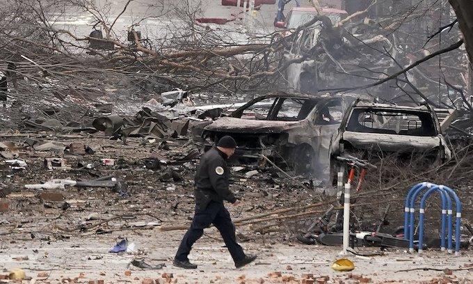 """US authorities probe """"intentional"""" blast in Nashville"""