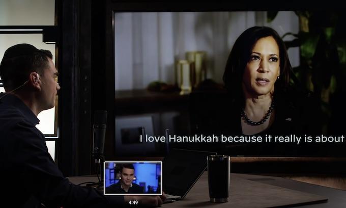 Kamala Explains Hanukkah