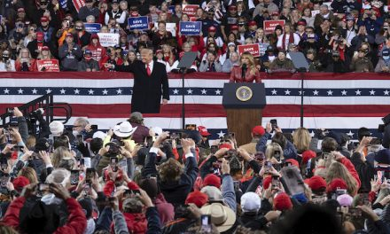 Mixed reception in Florida to talk of Trump inaugural rally