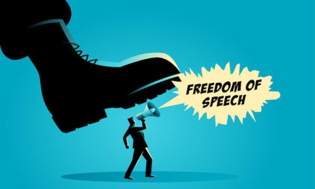 Freedom of Speech Slipping Away