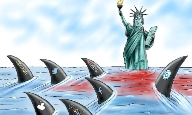 Liberty's Blood In The Water