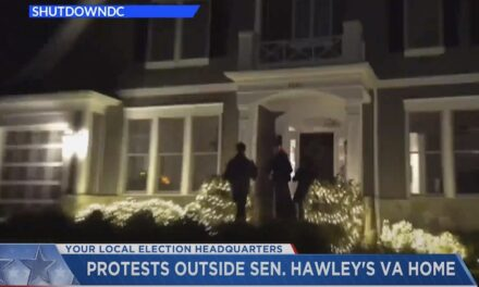 Sen. Hawley says family targeted by 'Antifa Scumbags'
