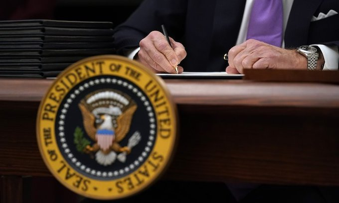 NYT, Dems to Biden: Stop with the executive orders already