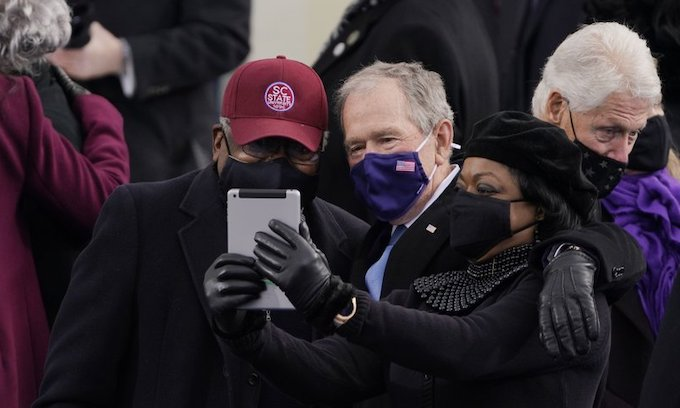 George Bush called Clyburn a 'savior' for helping Biden to get elected