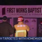 Baptist church in El Monte bombed