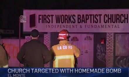 Baptist church in El Monte bombed