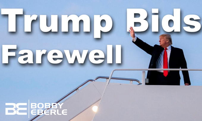 Will Trump be back? Trump bids farewell, says 'the movement is just beginning'