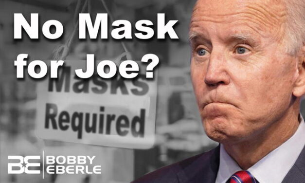 That was fast! Joe Biden issues mask mandate… then ignores it!