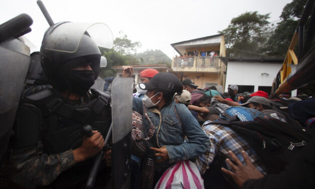 Guatemalan caravans head north to collect on Biden commitments