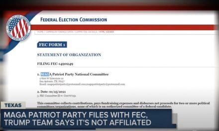 'MAGA Patriot Party' files with FEC; Trump team says it's not affiliated