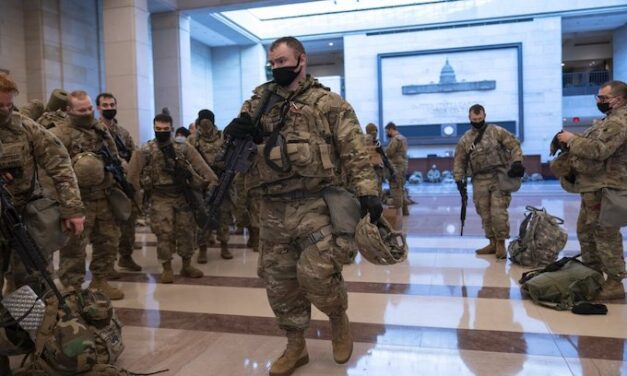 'Packed us together like sardines': Guard deployed to Capitol struggles to contain Covid