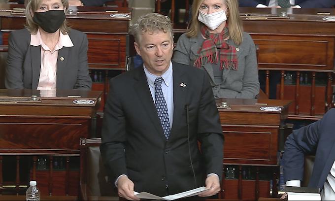 45 GOP senators say no to sham impeachment in procedural vote