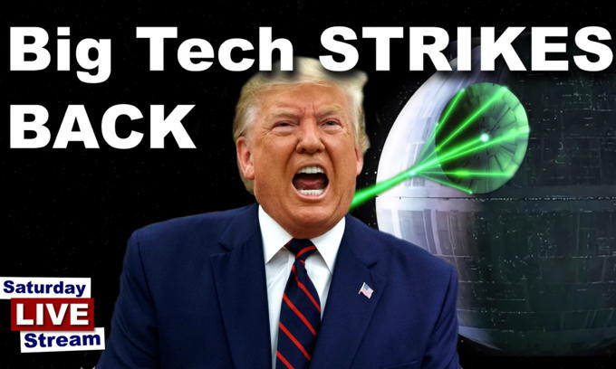 Big Tech Strikes Back! Twitter permanently bans Trump's account